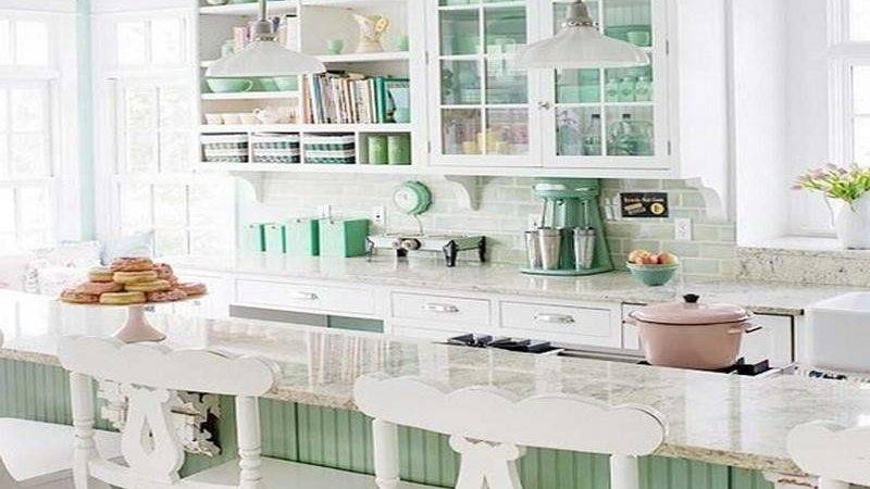 Bloombety Decorating Mint Green Kitchen Awesome