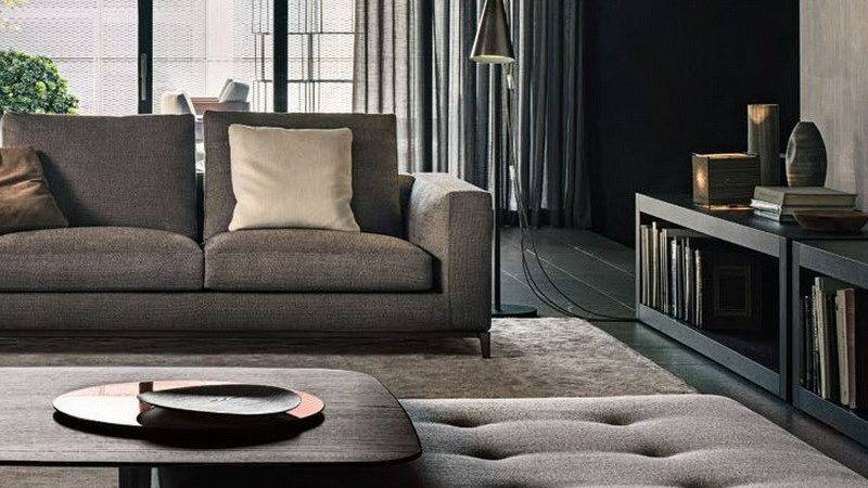 Bloombety Interior Design Trends Grey Sofa