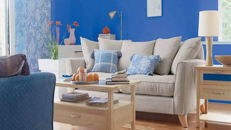 Bloombety Painting Ideas Living Room Blue Sky