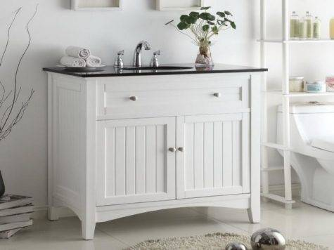 Bloombety Smart Cottage Style Bathroom Vanity