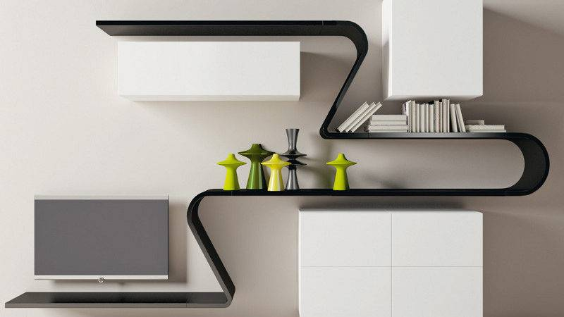 Bloombety Wall Shelving Ideas Modern Style