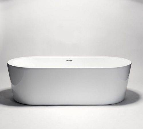 Blu Bathworks Coco Freestanding Small Acrylic Bathtub