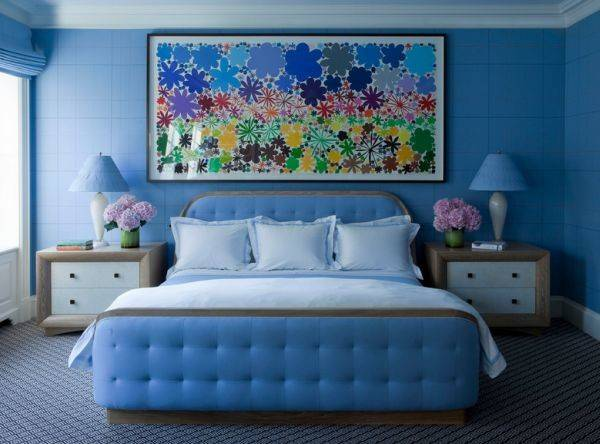 Blue Bedrooms Soothing Designs