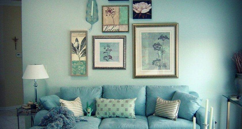 Blue Brown Living Room Decor Country Designs Ideas