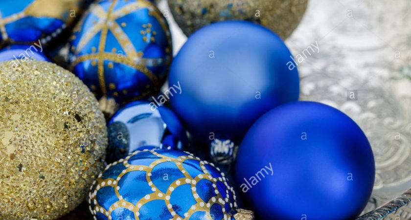 Blue Christmas Decorations Lights Decoration