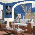 Blue Couch Living Room Color Schemes