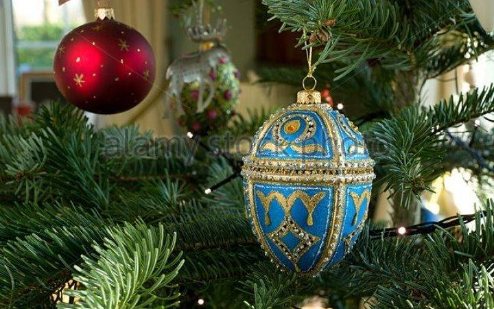 Blue Gold Christmas Decorations