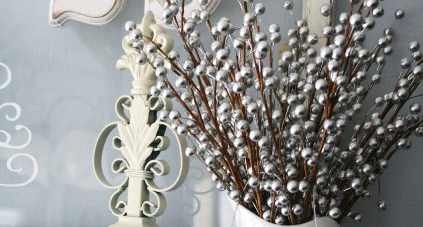 Blue Green White Silver Christmas Decorating Ideas