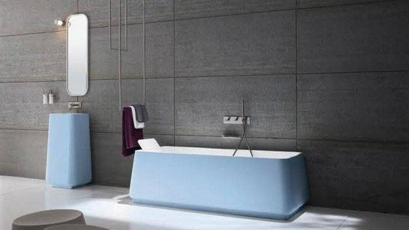 Blue Modern Italian Bathroom Designs Stroovi