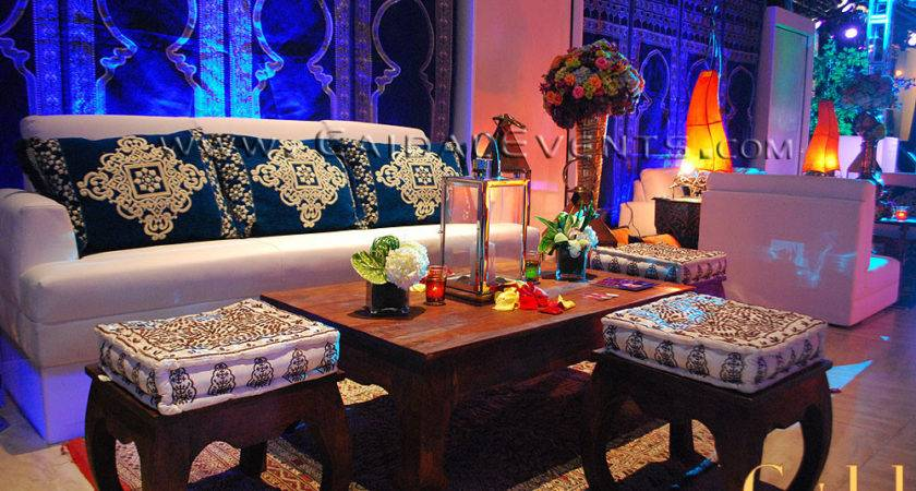 Blue Moroccan Theme Party Themed Berber Events