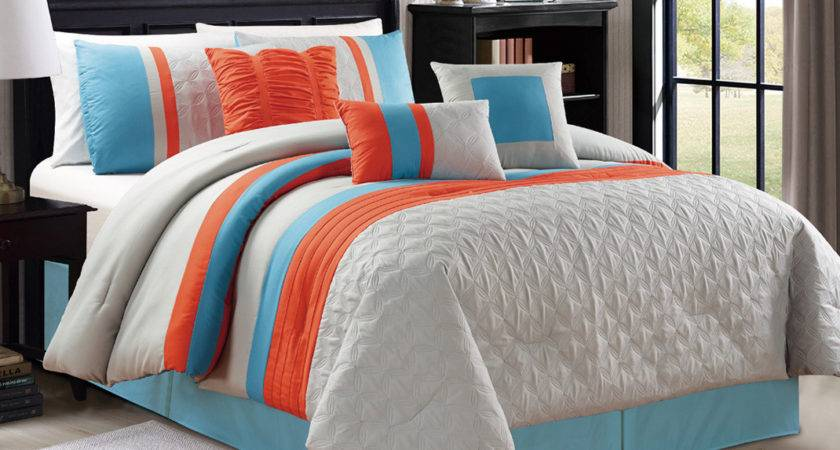 Blue Orange Bedding Royal Purple