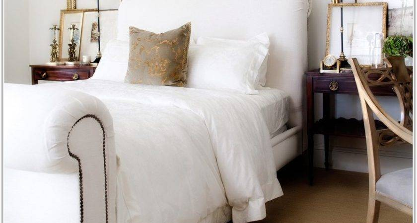 Blue Tan White Bedding Uncategorized Interior