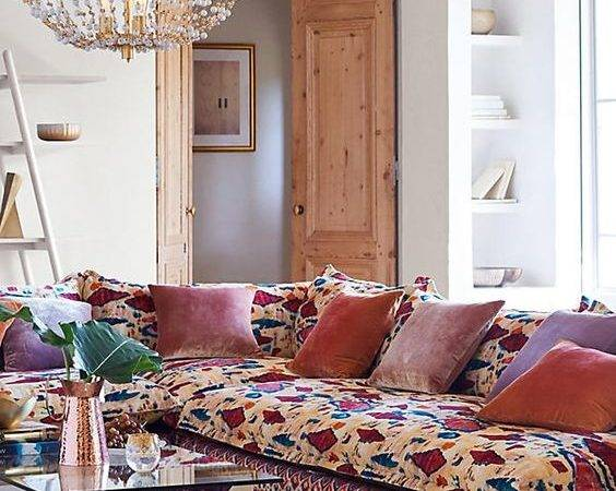 Boho Sofa Couch Styles Your Living Room