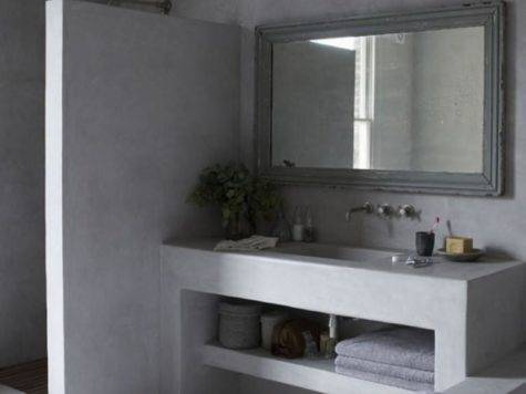 Bold Bathroom Designs Concrete Walls Rilane