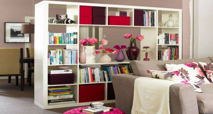 Bookcase Room Dividers Ideas