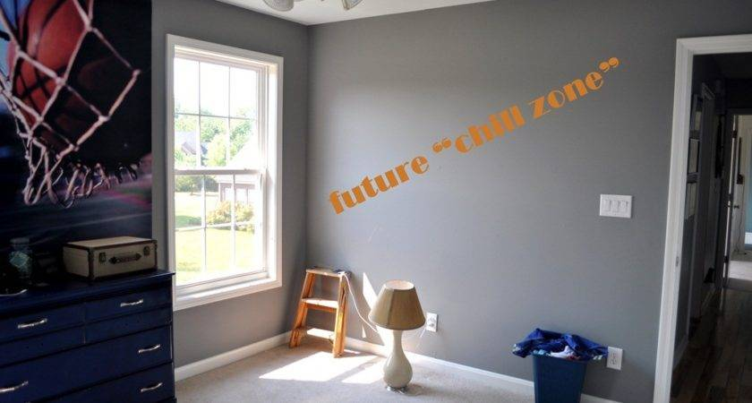 Boys Room Grey Painting Pin Pinterest
