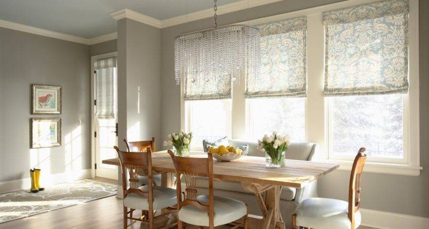 Brass Chandelier Dining Room Traditional Warm