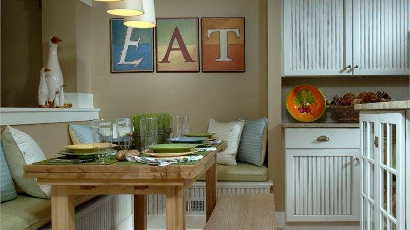 Breakfast Nook Sets Small Dining Table Ideas Kitchen