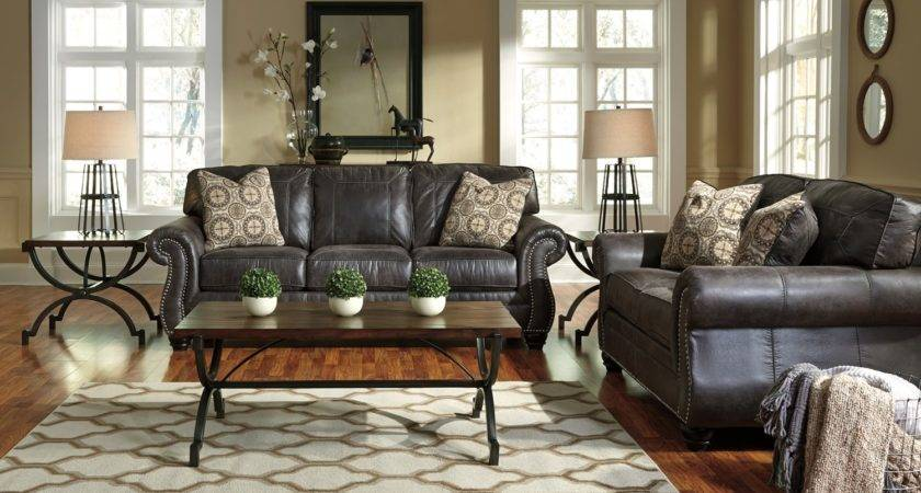 Breville Charcoal Traditional Living Room Furniture Set