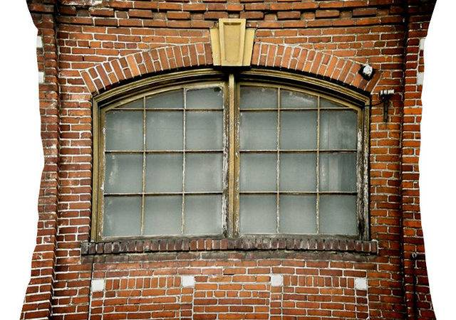 Brick Window Pillow Industrial Scatter Cushions