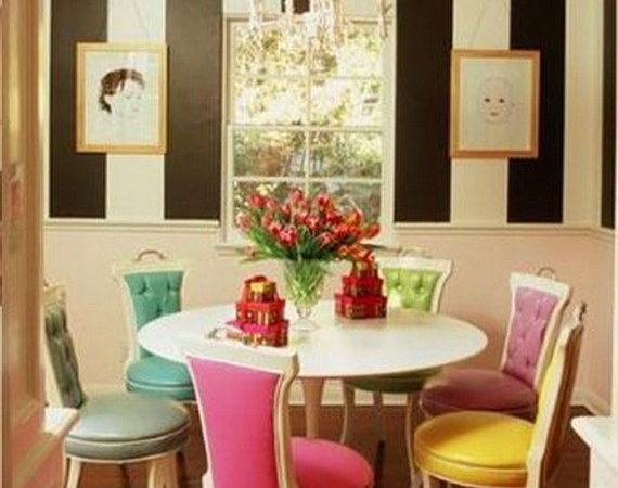 Bright Dining Room Designs