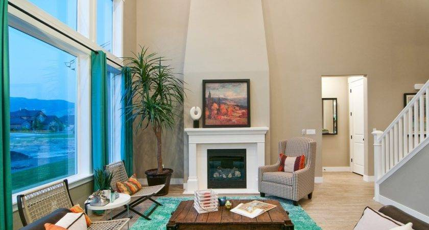Bright Turquoise Rug Look San Francisco Midcentury Living