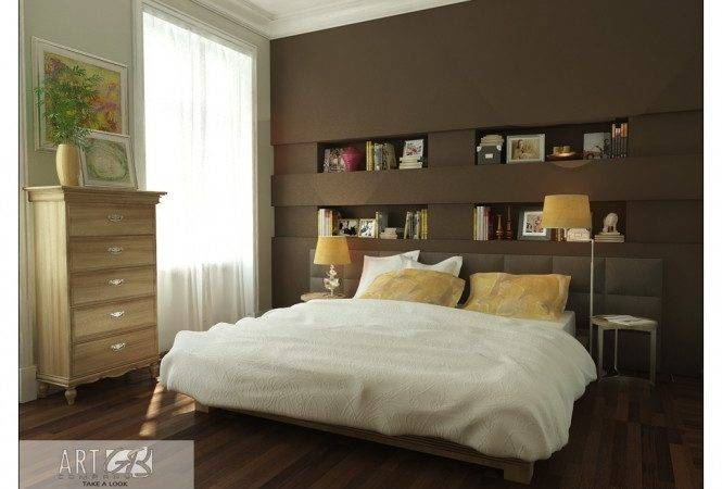 Brown Bookcase Wood Floor Amazing Colorful Bedrooms