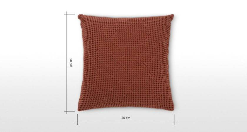 Brown Cotton Cushion Industrial Style Grove