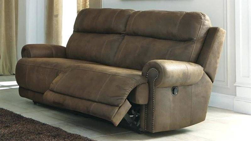 Brown Faux Leather Reclining Sofa Red Recliner Sofas