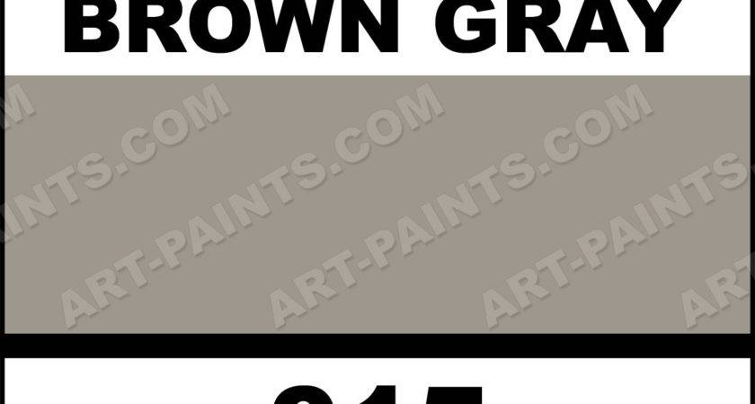 Brown Gray Paint Colors