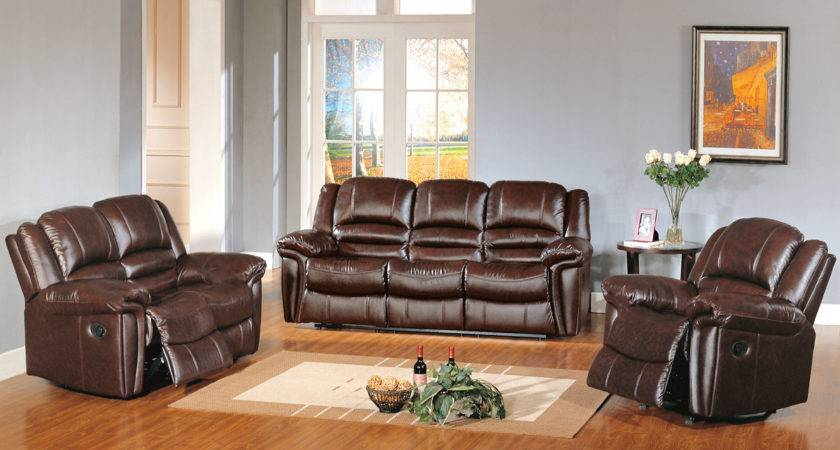 Brown Leather Living Room Set Ideas Doherty