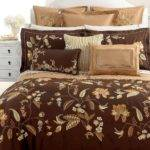 Brown Lime Green Bedding Home Design