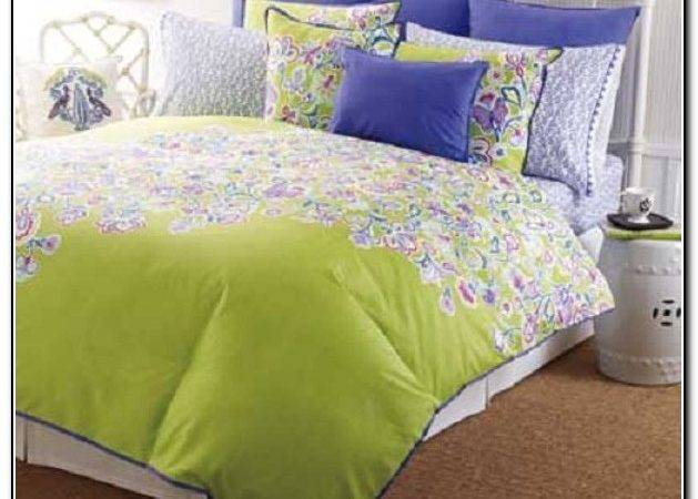 Brown Lime Green Bedding Sets Beds Home Design