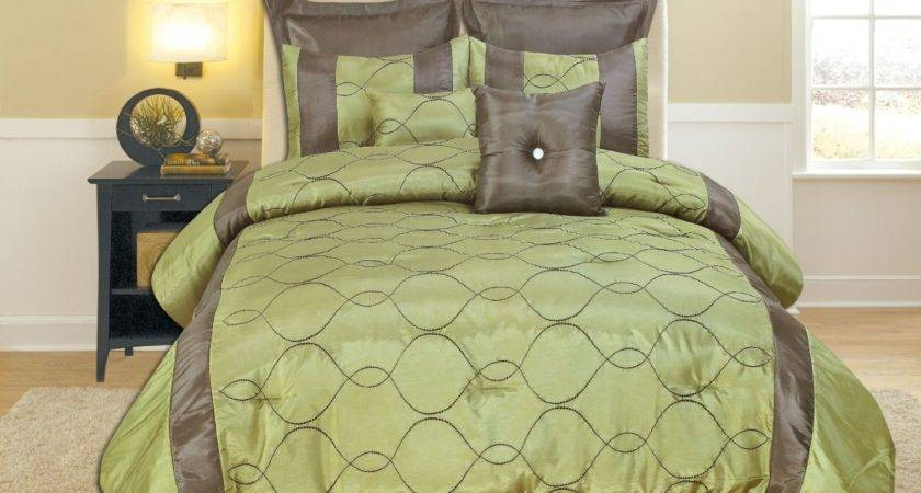 Brown Lime Green Duvet Cover Sweetgalas