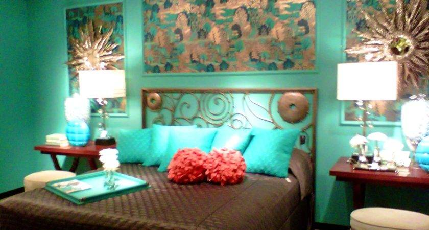 Brown Teal Living Room Decor Which
