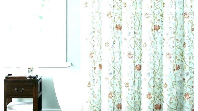 Brown Teal Shower Curtain Chocolate Curtains