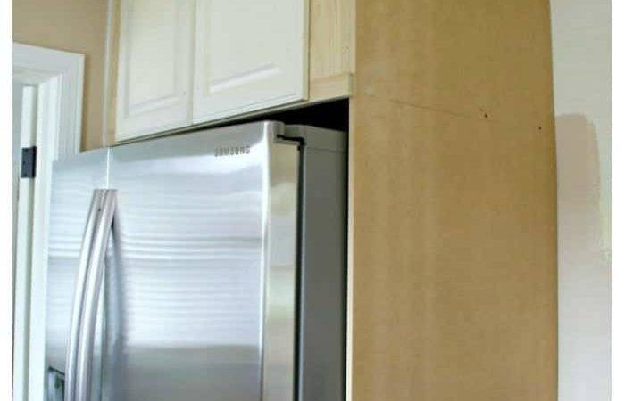 Build Diy Refrigerator Cabinet Chatfield Court