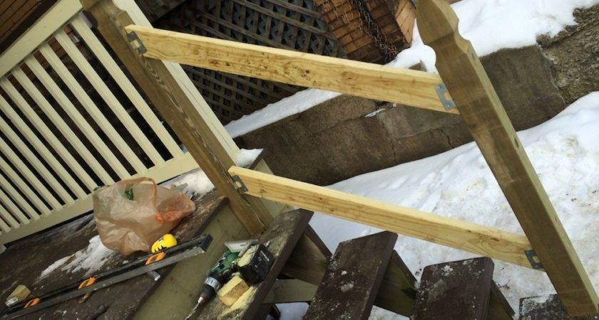 Build Handrail Your Porch Safer Stairs