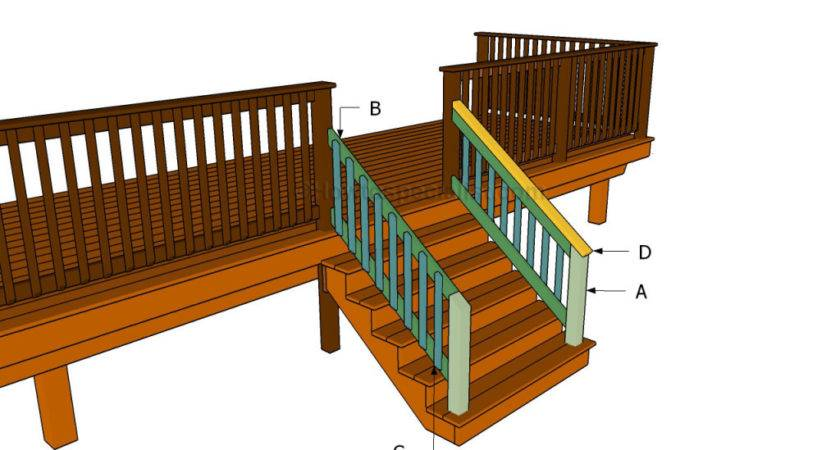 Build Porch Stair Railing Howtospecialist