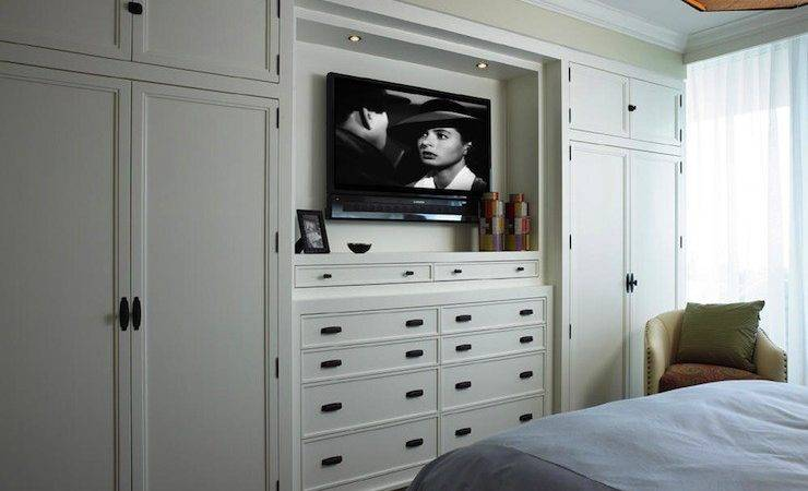 Built Cabinets Transitional Bedroom Cindy Ray