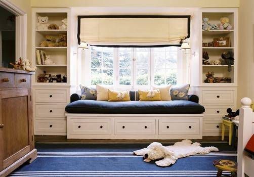 Built Daybed Contemporary Boy Room Peter Dunham