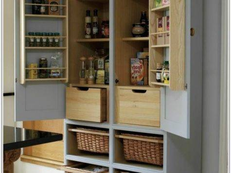 Built Pantry Cabinet Home Decorating Ideas