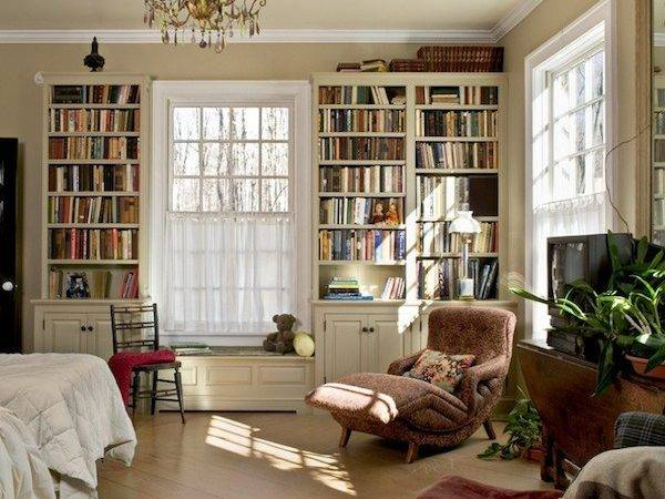 Builtin Bookshelves Bedroom Ideas Decoist