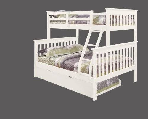 Bunk Bed Twin Over Mission Style Trundle