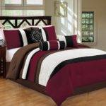 Burgundy Bedding Sets Cheap Sale Ease Style
