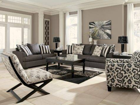 Buy Levon Charcoal Living Room Set Signature Design
