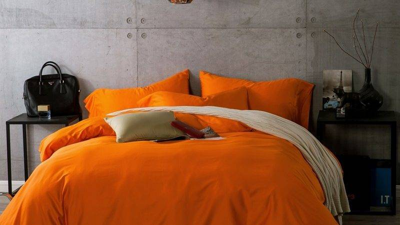 Buy Wholesale Orange Bedding China