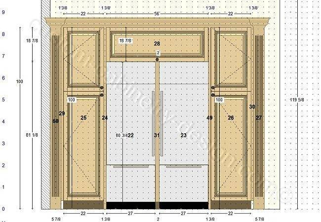 Cabinetry Floor Plan Elevations Design Layouts Build