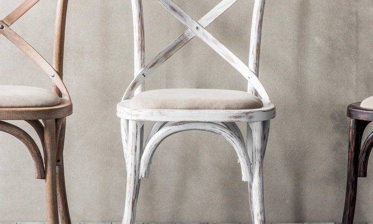 Cafe Chair Cross Back Bentwood Dining