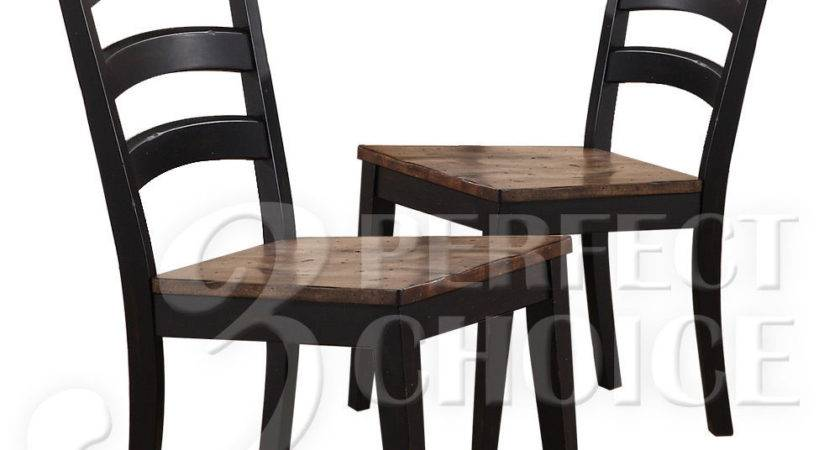 Cambridge Country Dining Side Chair Set Distressed